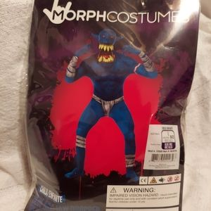 Morph Costumes Blue Orc Jaw Dropper Kids Costume